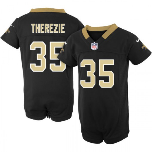 Nike Robenson Therezie New Orleans Saints Game Newborn Team Color Jersey Creeper - Men's
