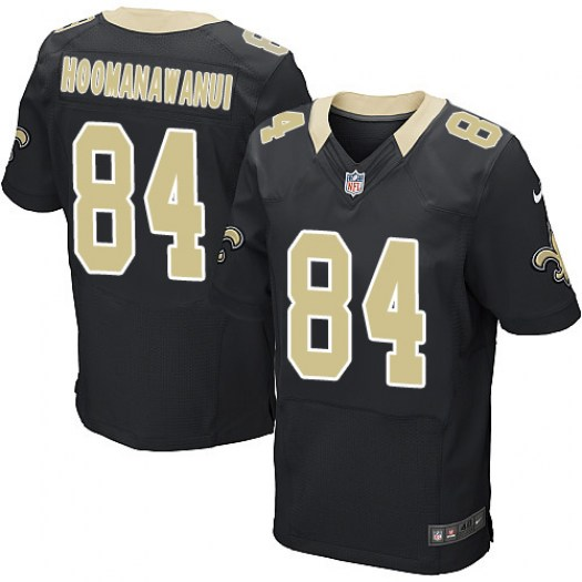 Nike Michael Hoomanawanui New Orleans Saints Elite Black Team Color Jersey - Men's